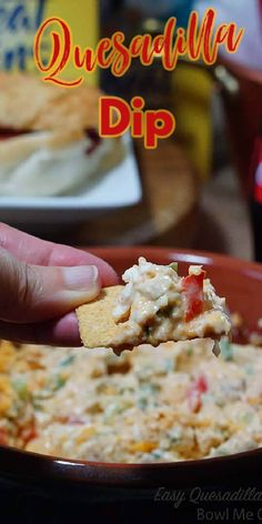 Mexican Appetizers Easy, Bread Appetizers, Easy Appetizer Recipes, Appetizer Dips, Yummy Appetizers, Easy Snacks, Appetizers For Party, Mexican Food Recipes, Party Dip Recipes