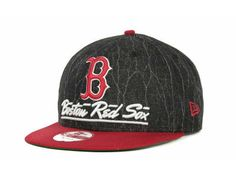 Boston Red Sox MLB Lightning Strike Snapback 9FIFTY Cap Hats