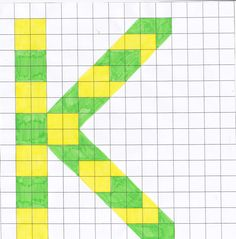 Mozaïek letter K