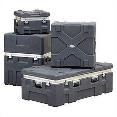 "SKB RX Series: Rugged Roto-X Shipping Foot Locker Case:  18 5/8"" H x 27 5/16"" W x 15 1/8"" D (outside)"