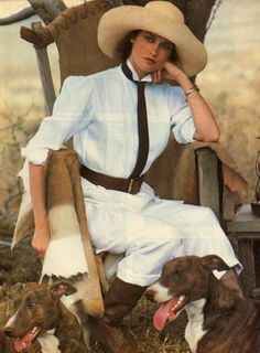 midwestwasp:Vintage Ralph ~ She was my favorite Ralph Lauren model