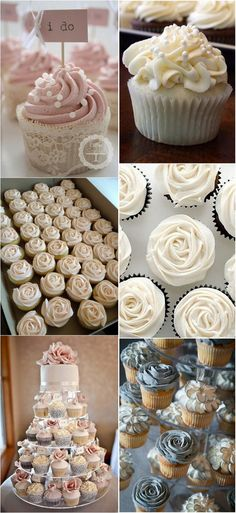 wedding cupcake ideas #weddingcake #weddingdessert #weddingideas