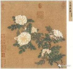 ZsaZsa Bellagio – Like No Other: House Beautiful: Classic, Fresh and Elegant 馬遠 Ma Yuan ( 1160 - 白薔薇圖 White Rose Japan Painting, Ink Painting, Vintage Art, Vintage World Maps, Perla Steven Universe, Art Asiatique, Japanese Artwork, Korean Art, China Art