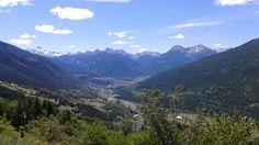 Hautes Alpes, descente du Col du Granon