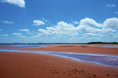 This is Amherst Shore - the sand flats ....