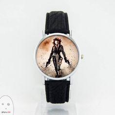 Black Widow Tasarım Kol Saati PiyuWatercolor