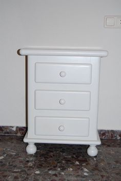 1000 images about muebles pintados on pinterest shabby - Como pintar muebles antiguos ...