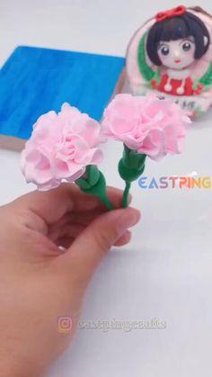 Fondant Flower Tutorial, Fondant Flowers, Sugar Flowers, Fondant Rose, Rose Tutorial, Cake Decorating Frosting, Cake Decorating Videos, Cake Decorating Techniques, Polymer Clay Flowers