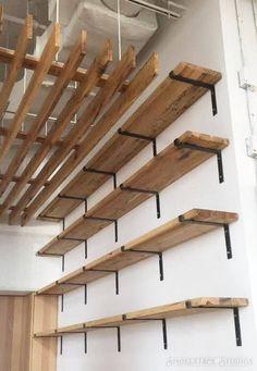 Steel Shelf Bracket - Modern Kitchen Open Shelving, Iron Shelf Bracket, Industrial Kitchen L Brackets, Metal Shelf Brackets, Custom Shelving - Diyhaus