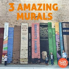 Salt Lake City Wall Murals | The Salt Project | Things to do in Utah with kids