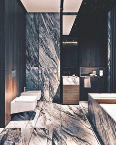 40 Gorgeous Minimalist Bathroom Design But Looks Luxurious - Home Design Contemporary Stairs, Contemporary Building, Contemporary Wallpaper, Contemporary Bathrooms, Contemporary Furniture, Contemporary Design, Contemporary Garden, Contemporary Architecture, Contemporary Chandelier