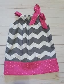 Gray chevron dress pink and gray dress chevron pillowcase | Etsy Chevron Fabric, Chevron Dress, Grey Chevron, Polka Dot Fabric, Pink Polka Dots, Grey Fabric, Pink Brown, Pink Grey, Grey And White