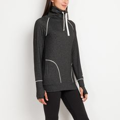 Cabin Tech Pullover Top | Roots Tech Tops for Women
