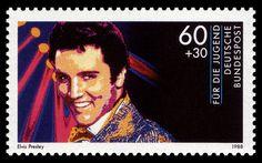 Jugend Elvis Presley stamp