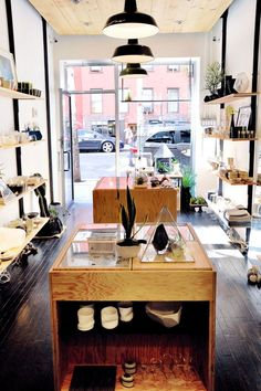 Decor Tips From 5 Beautiful NYC Store Interiors #refinery29 www.refinery29.co...  4. Still House  Jewelry designer Urte Tylaite worked alongside design studio Silva/Bradshaw to construct Still House, an East Village store that\'s simple in the best way — \