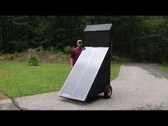 Solar Food Dehydrator   -  https://www.youtube.com/watch?v=8XID-nxU5K0