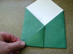 Easy origami envelope, by Launi @ graciousrain (Jun'13)
