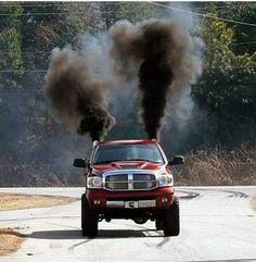 Smoke the sky away #Dodge