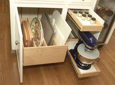 Kitchen - cabinets organizer