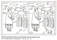 Ten Commandments Maze. This maze will help you prepare