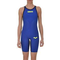 Costume nuoto da gara donna | Arena Powerskin Carbon air blu-1