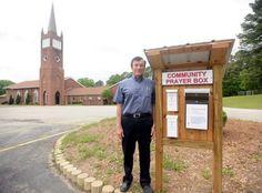 "Church's ""Drive Thru Prayer Box"" Stirs Community | #Church #Inspirational #USNews | Full Story: http://jimbakkershow.com/news/churchs-drive-thru-prayer-box-stirs-community/"