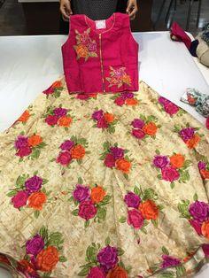 Elegant Fashion Wear Explore the trendy fashion wear by different stores from India Ethnic Crop Top, Lehenga Crop Top, Lehenga Blouse, Lehanga For Kids, Crop Top Designs, Blouse Designs, Kids Ethnic Wear, Kids Dress Wear, Wedding Dresses For Kids