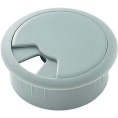 De kabeldoorvoer is een dop die in het bureaublad geplaatst wordt en zo de mogelijkheid biedt om de kabels door het bureaublad netjes af te voeren. Er zijn verschillende uitvoeringen, vormen en materialen verkrijgbaar.