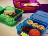 Sistema Lunch. bento-inspired lunch containers at Old Navy for $5 a piece.  Each has 3 compartments