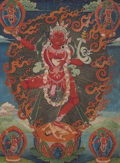 A thangka of Vajravarahi Tibet, 19th century