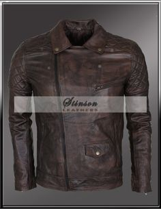 Get This Men Brando Motorbike Leather Jacket At very reasonable Price 100% Genuine Leather Pure Sheep Leather Finest Stitching Free Shipping Men Motorbike Jacket