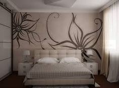 Картинки по запросу варианты оформления стен жидкими обоями Wall Murals Bedroom, Bedroom Decor, Wall Decor, Living Room Partition, Bedroom False Ceiling Design, Duplex House Design, Bathroom Design Luxury, Interior Decorating, Interior Design