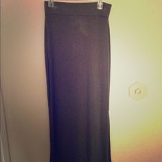 Simple Olive Green Maxi Skirt! Cute and simple maxi skirt. Never been worn, I got an almost identical one as a gift! a.n.a Skirts Maxi