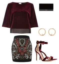 Untitled #2 by kkelso41 on Polyvore featuring polyvore fashion style River Island Balmain Gianvito Rossi clothing