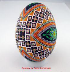goose egg pysanka, pysanky, pisanki, писанка, писанки