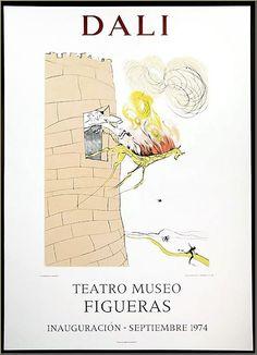 Salvador Dali: Le Grand Inquisiteur, Teatro Museo Figueras, Mourlot