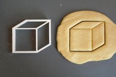 To make cube cookies!  Cube 3D cookie cutter