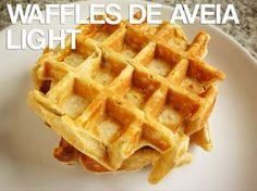 Waffles de Aveia Light
