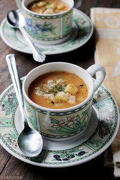 Slow Cooker Vegetarian Leek & Potato Soup from Diethood
