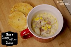 Easy Sausage And Corn Chowder