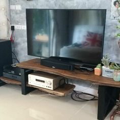 Solid Wood Tv Stand, Flat Screen, Furniture, Blood Plasma, Home Furnishings, Tropical Furniture