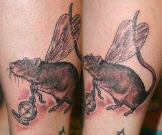 rat art tattoo - Google Search