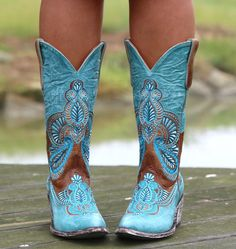 Old Gringo Bell Blue Cowgirl Boots Blue Cowgirl Boots, Womens Cowgirl Boots, Blue Boots, Western Boots, Western Style, Boots Women, Cute Shoes, Me Too Shoes, Estilo Country