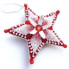 Звезда своими руками  #рукоделие #игрушки