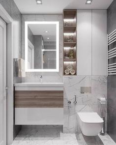 Luxury wrapped New Year's Eve celebration (edit now) 1456529324 – Marble Bathroom Dreams Washroom Design, Toilet Design, Bathroom Design Luxury, Bathroom Layout, Modern Bathroom Design, Small Bathroom, Bathroom Cabinets, Modern Bathroom Lighting, Modern Lighting
