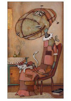 Johan Potma: Cat Lady 2000, 2012