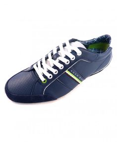 Buy Hugo Boss by Dark Blue Victoire LA Trainers 50217374 from our Shoes  range - Blue, Spring Summer 2014 - @ Jonathan Trumbull