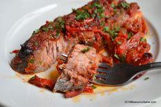 Plachie de peste (crap) reteta la cuptor | Savori Urbane Sunday Recipes, Romanian Food, Crap, What To Cook, Japchae, Fish Recipes, Pork, Lunch, Beef