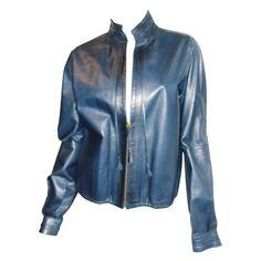 1stdibs   YSL Yves Saint Lauren Vintage   Leather Jacket