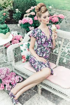 LAVENDEL FIELDS DRESS<br>lilac